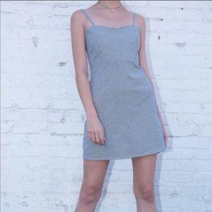 brandy melville striped Karla mini dress